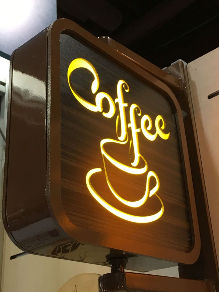 LED Sign, Coffee sign, Lighted sign