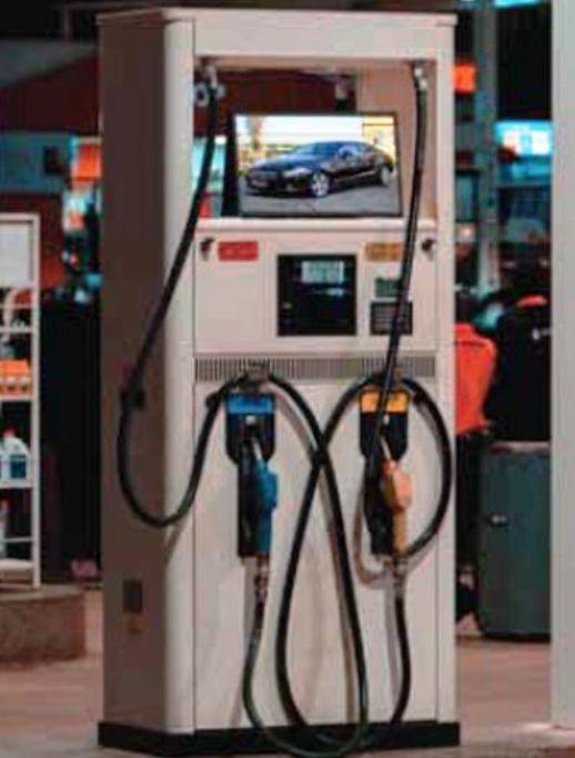 Gas Pump Digital Signage