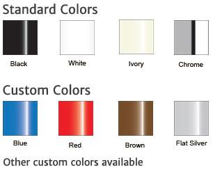 Power pole colors